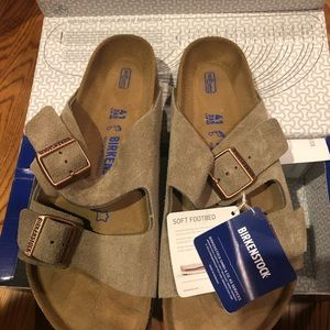 Birkenstock Arizona Taupe 10 Medium